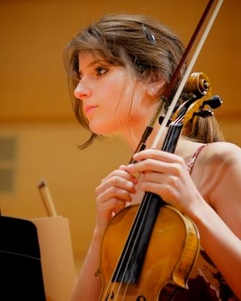 Violinist Sabrina Tabby