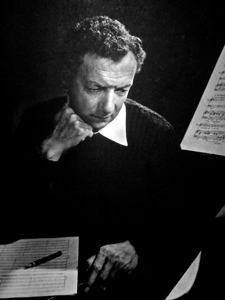 Composer Benjamin Britten