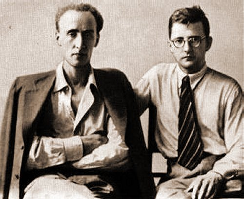 Mravinsky and Shostakovich, 1937