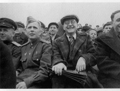 Shostakovich at a Soccer Game, 1940s