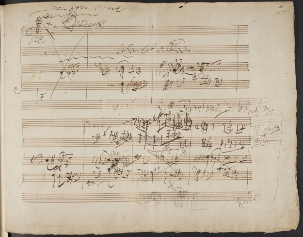 Beethoven Sketches for String Quartet Opus 131