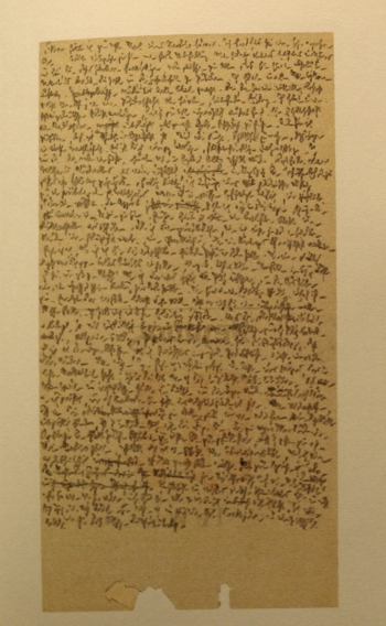 Robert Walser, Microscript 337 (recto), May-June 1926 (Radio)