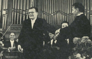 Shostakovich and Bernstein, 1959