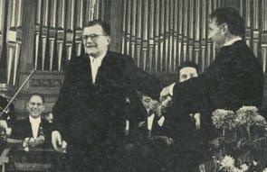Shostakovich and Bernstein, 1959