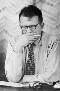 Dmitri Shostakovich, undated