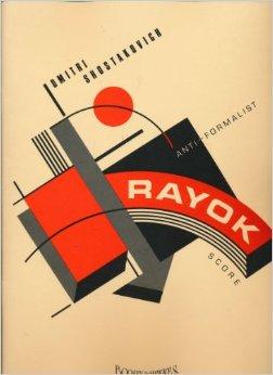 Anti-Formalist Rayok Score Cover