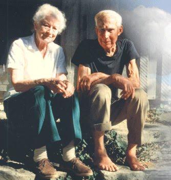 Anna and Harlan Hubbard