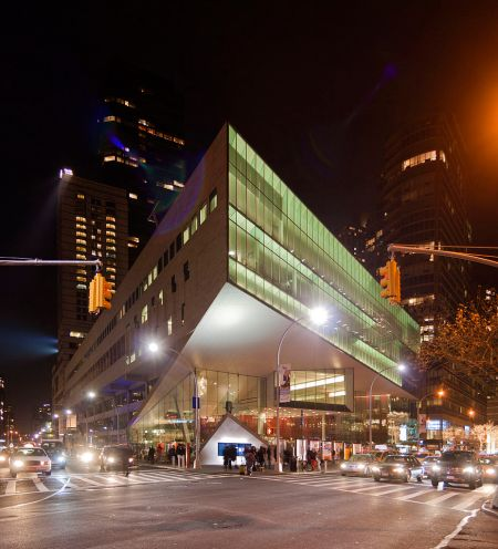 Alice Tully Hall, Lincoln Center, photograph by Robert Mintzes