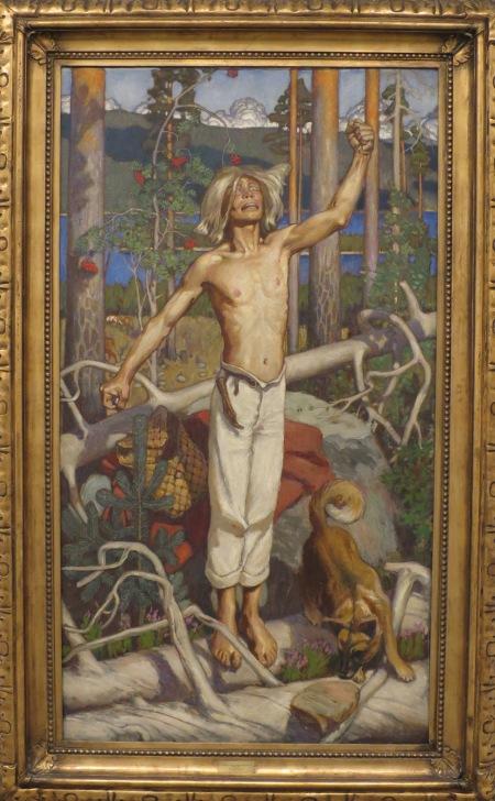 Kullervo's Curse by Akseli Gallen-Kallela (1899)