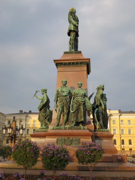 Monument to Alexander II, Senate Square