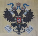Czar's Fishing Lodge, Double-Headed Eagle Embroidery