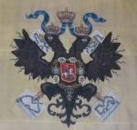 Czar's Fishing Lodge, Double-Headed Eagle Embroidery