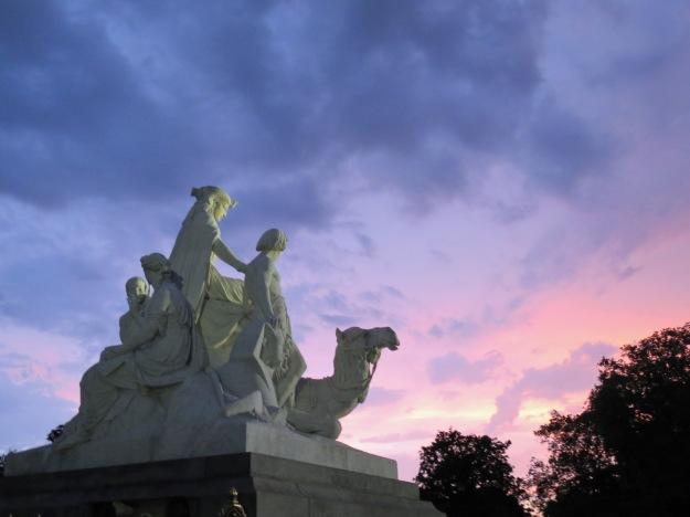 Africa, the Albert Memorial