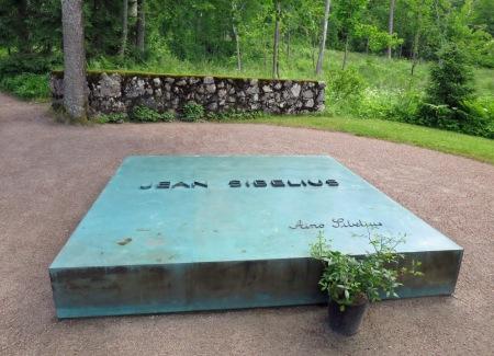 The grave at Ainola