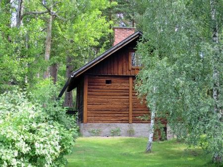 The sauna at Ainola