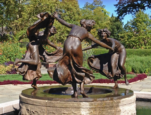 Central Park Conservatory Garden, Dancing Maidens