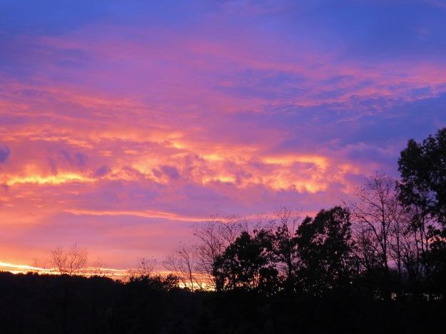 Sunset, Hudson Valley