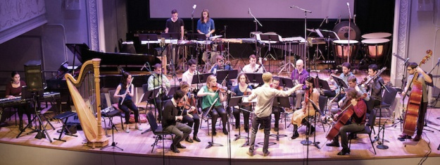 "Contemporaneous ""Living Toys"" Concert at Roulette (David Bloom conducting)"