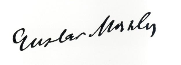 Mahler's signature