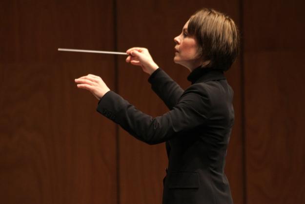 Susanna Mälkki, Chief Conductor-elect, Helsinki Philharmonic Orchestra (2016-19), photograph courtesy MITO SettembreMusica