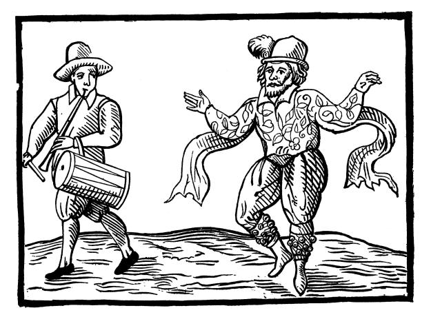 Will Kempe's Nine Days Wonder: Morris dancing from London to Norwich 1600
