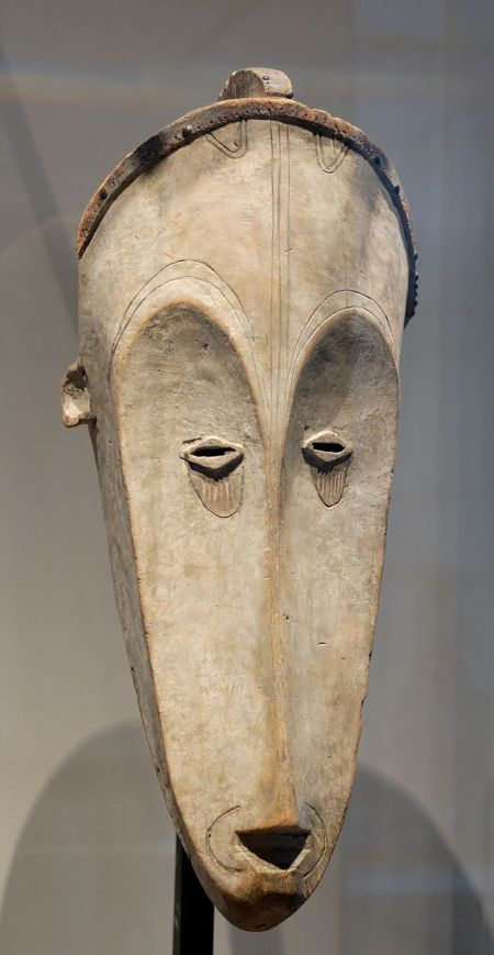 Ngil Society mask from the Fang people, Gabon