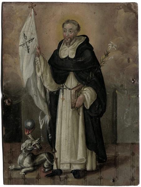 Der hl. Dominikus mit Lilie und Fahne (1600)