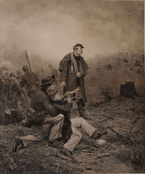 Julian Scott, Union Bugler (date unknown)