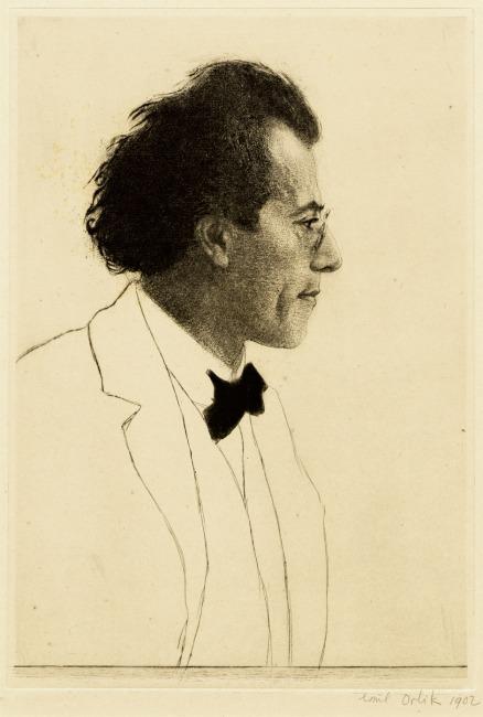 Emil Orlik, Gustav Mahler (1902)