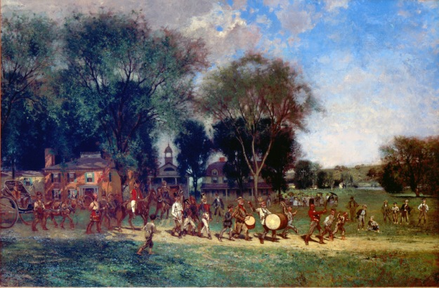Fourth of July Parade by Alfred Cornelius Howland, c. 1886