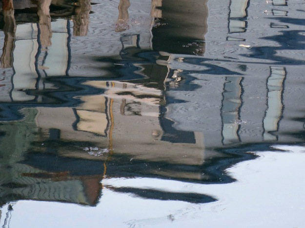 Portland Old Port Reflections