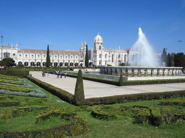 Belém, Park &amp Mosteiro dos Jerónimos