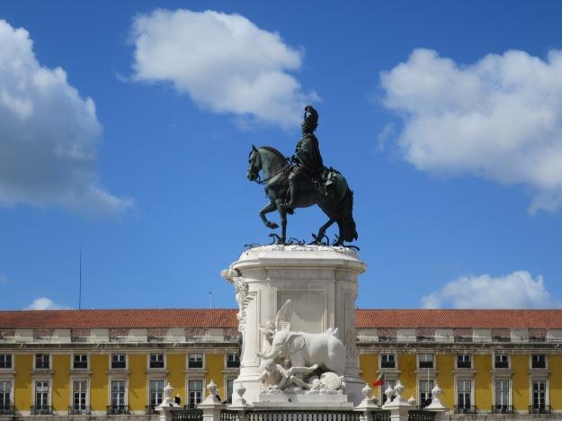 King José I, Praça do Comércio