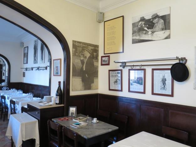 Pessoa's table, Café-Restaurante Martinho da Arcada