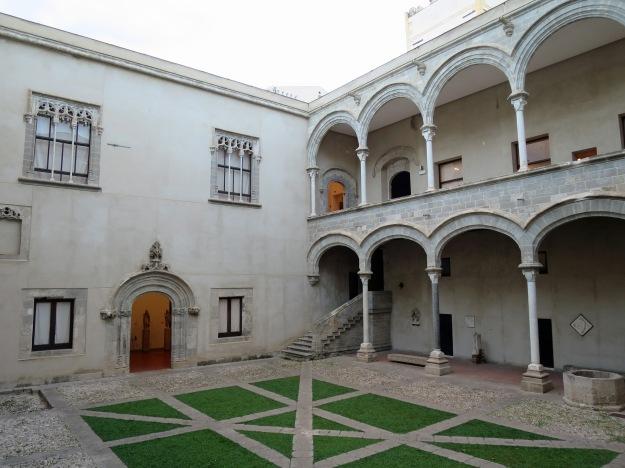 Courtyard, Palazzo Abatellis