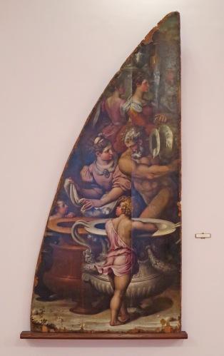 La Caduta della Manna (Giorgio Vasari, 1545)