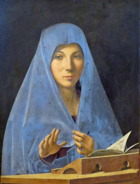 Annunciata (Antonello da Messina, 1430-1479)