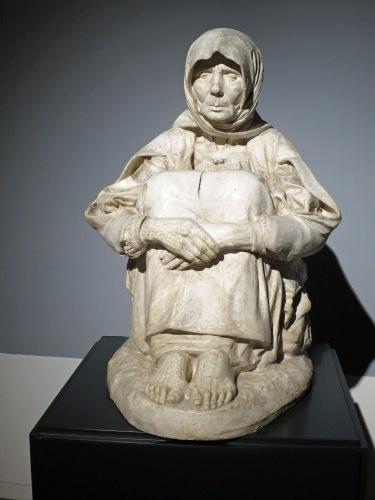 Francesco Ciusa, La madre dell'ucciso/Mother of a murder victim (1907)