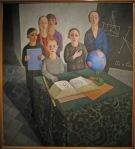 Felice Casorati, Gli scolari (1927-28)